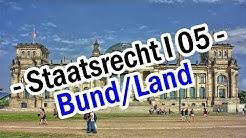 Staatsrecht I 05 -  Das Verhältnis zwischen Bund und Ländern - Art.30 GG
