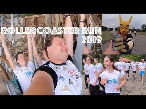 Rollercoaster Run 2019 in Walibi Holland! - 5km rennen, onride in Untamed, Xpress & Lost Gravity!