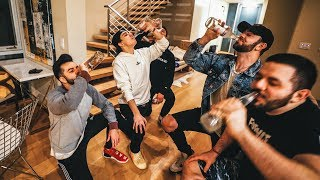 COURAGE AND CLOAKZY VISIT 100 THIEVES CONTENT HOUSE