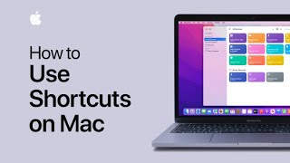 How to use Shortcuts on Mac | Apple Support