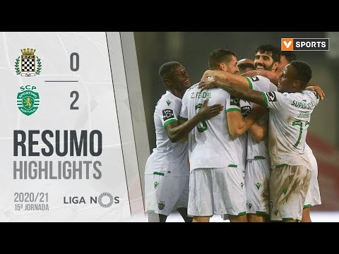 Boavista Sporting Lisbon Goals And Highlights