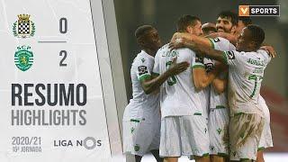 Highlights   Resumo: Boavista 0-2 Sporting (Liga 20/21 #15)