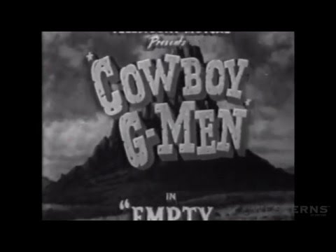 Cowboy G Men EMPTY MAIL BAGS western TV show episode full length