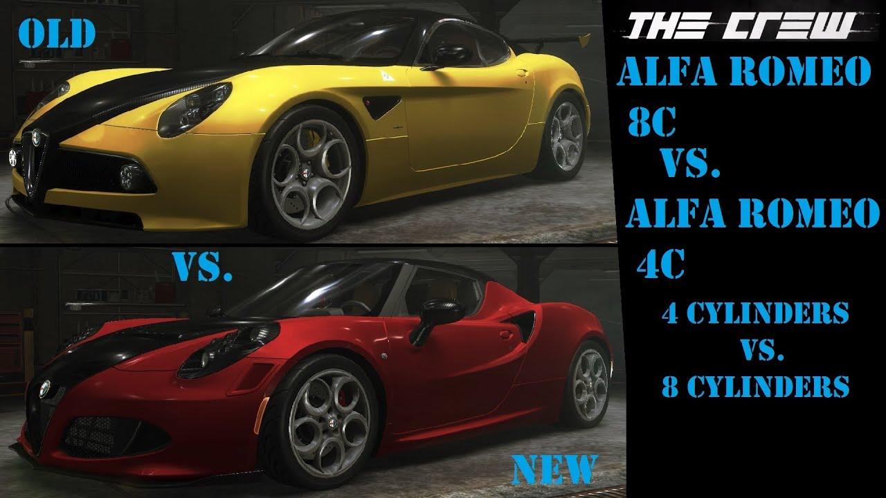 Lets Play The Crew Part 77 Quot Old Vs New Quot Alfa Romeo
