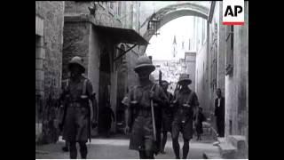 Restoring Order In Palestine - 1938