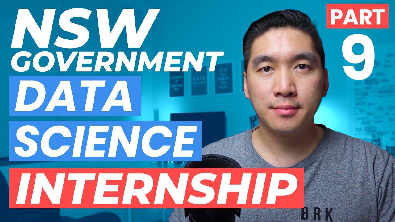 Data Science Virtual Internship - Part 9 (NSW Government)