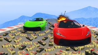 SURVIVE THE EXPLOSIVE TRAP! - GTA 5 Funny Moments