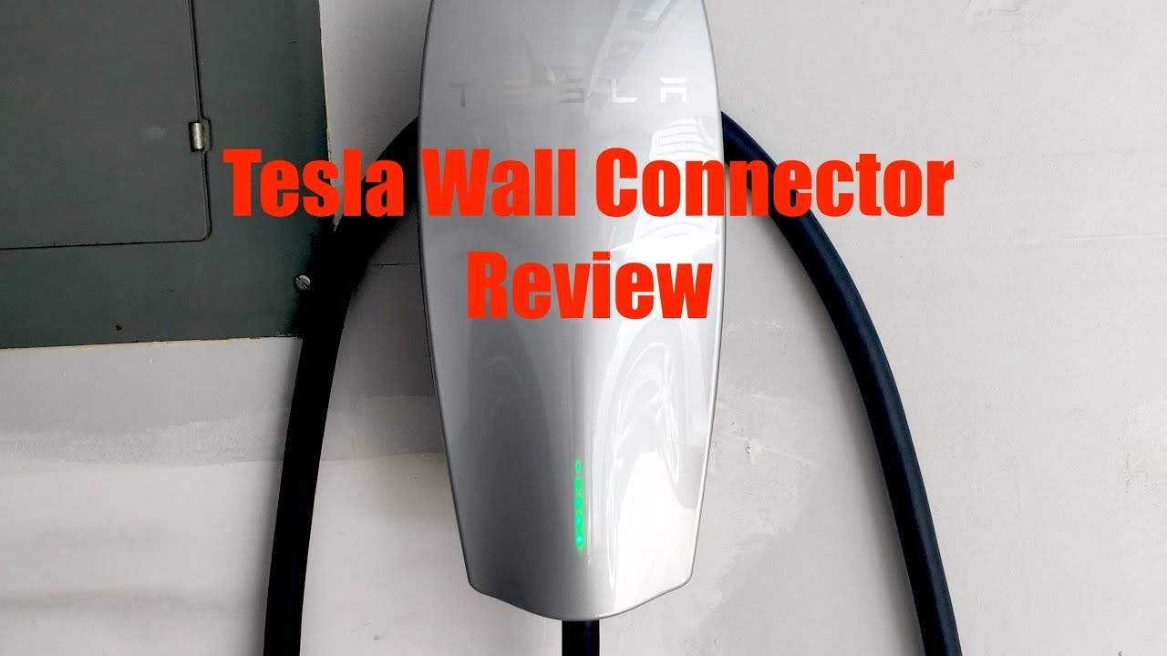 tesla wall connector review is it worth it youtube. Black Bedroom Furniture Sets. Home Design Ideas