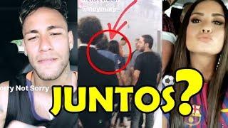 demi lovato e neymar deixam estádio juntos diz fandom