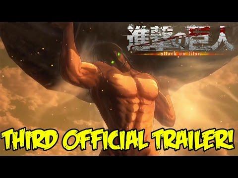 Attack On Titan (PS4): Official Trailer #3! TITAN EREN GAMEPLAY REVEALED!!