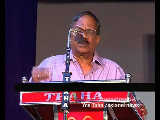 M. T. Vasudevan Nair pays homage to ONV Kurup