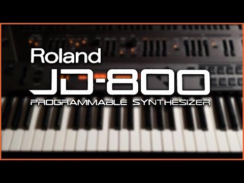 Roland JD-800 Demo - Epic Pad Machine [NO TALKING]