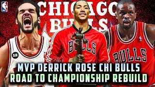 MVP DERRICK ROSE RETURNS! 2011 CHICAGO BULLS ROAD TO CHAMPIONSHIP! NBA 2K19 REBUILD thumbnail