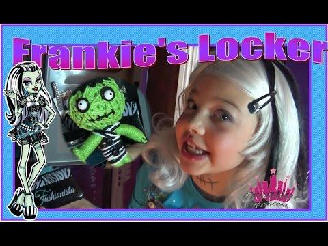Real Live Monster High | Frankie's Locker - Creative Princess
