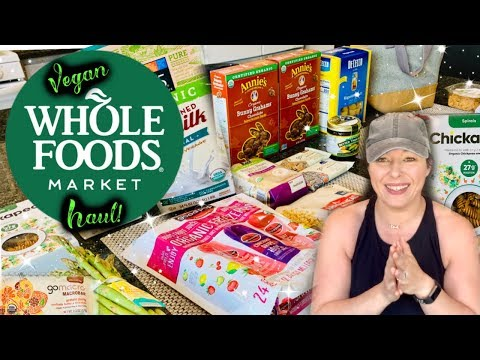 WHOLE FOODS HAUL! | Vegan & Prices Shown! | May 2019