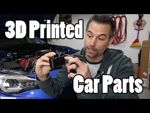 3D Printed Car Parts!