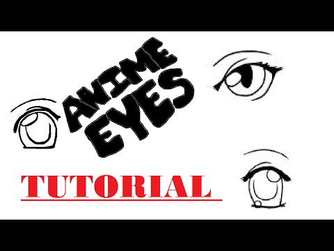 How To Draw Anime Eyes Tutorial Tips And Tricks Female W