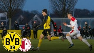Re-Live: U19 erreicht nächste Runde | BVB U19 - Slavia Prag U19 5:1 | UEFA Youth League