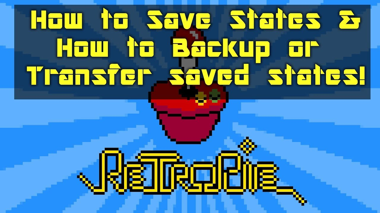 How to Save and Backup Save States - Retro Gaming Retropie