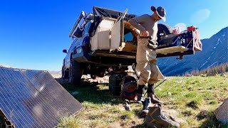 7 Years as a 4x4 Nomad: Continental Divide Trail - First Fishing of the Season