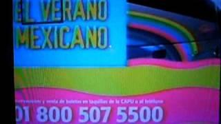 Comercial de Tv, Autobuses Futura, El verano Mexicano