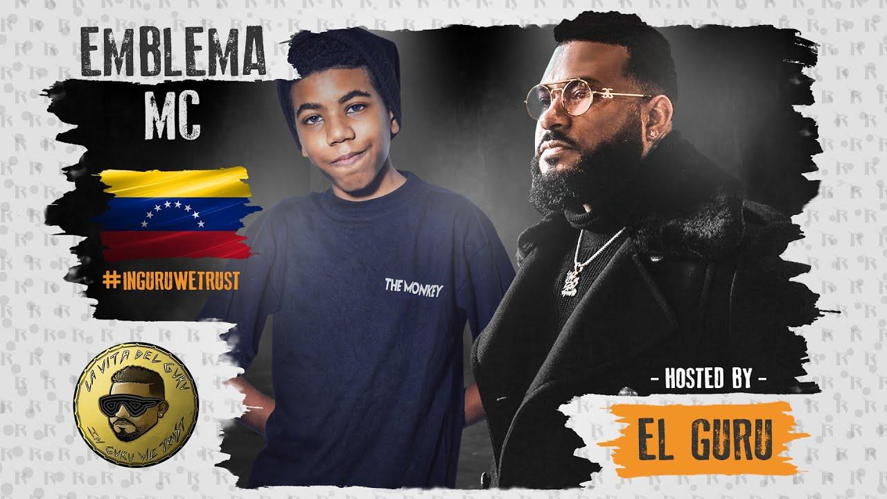 ¡EMBLEMA MC UN GENIO DEL RAP CON SOLO 16 AÑOS DE EDAD! | IN GURU WE TRUST