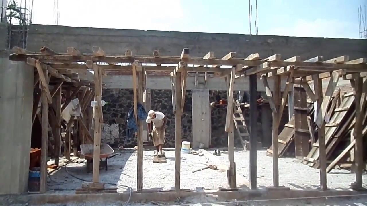 Trabes de cerramiento a base de concreto reforzado youtube for Cuanto cuesta una piscina de cemento