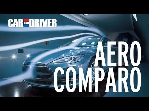 Aero Comparo! Tesla Model S vs Volt, Prius, Leaf, Mercedes CLA