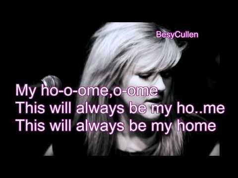 Ellie Goulding - Home (Lyrics on Screen - Album Version)