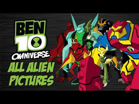 Ben 10 Omniverse: All Aliens with Pictures