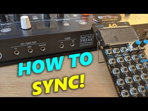 Arturia Microfreak: How to Sync with ANY Pocket Operator!