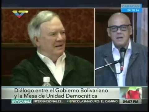 Reunión entre gobierno venezolano, oposición y Nuncio Apostólico este lunes 24/10/2016