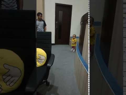 Anak Kawan Main-Main Ke Riau Command Center