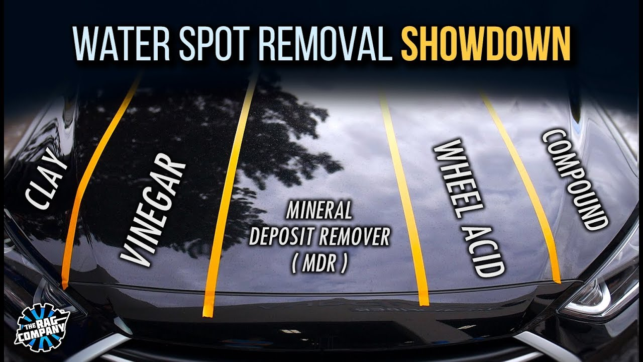 How To Remove Water Spots From Your Car