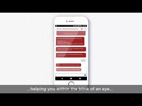 Conversational Banking via Chatbot