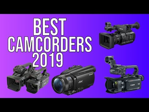 Best Camcorders in 2019 - Top 5 Best Camcorder of 2019