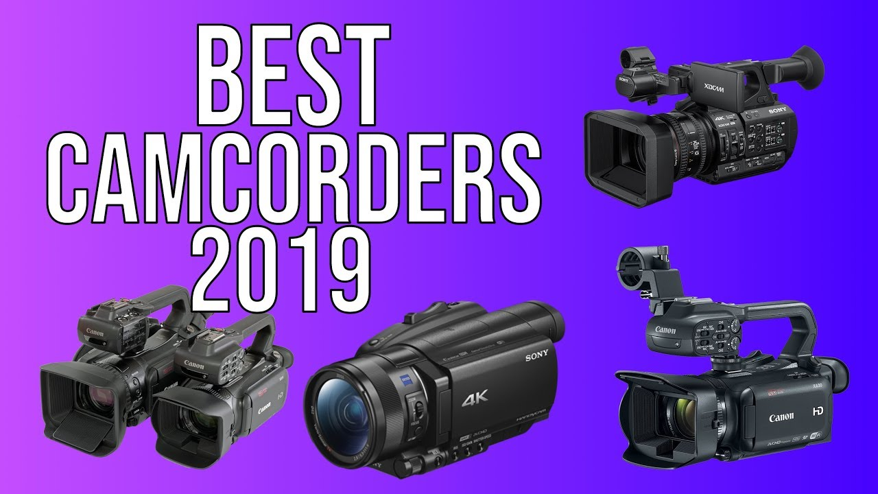Best Camcorders in 2019 - Top 5 Best Camcorder of 2019 #1