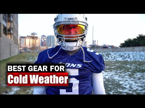 Top 5 Cold Weather Football Gear