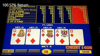 Drawing for a ****ing Royal Flush! Casino Video Poker Compilation.