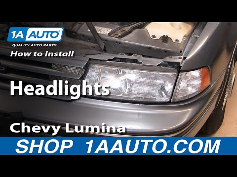 How To Replace Headlights 90-94 Chevy Lumina