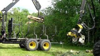 Pokaz maszyn leśnych