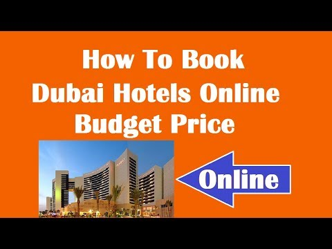 How To Book Hotels for Dubai in Budget Price Online ? Hindi Video