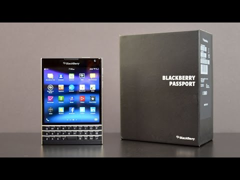 Blackberry Passport: Unboxing & Review