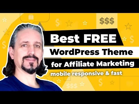 Best FREE WordPress Theme For Affiliate Marketing ⚡ And How To Use It