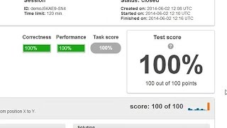 FrogJmp - Codility practice test by Fed