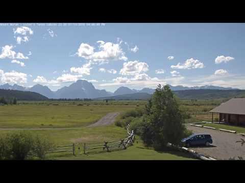 Mount Moran - Luton's Teton Cabins