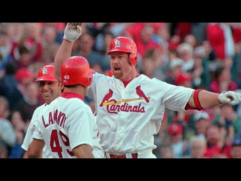 Mark McGwire's  Day grand slam in 1998