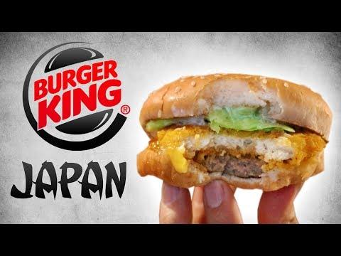 JP TRIES BURGER KING IN JAPAN