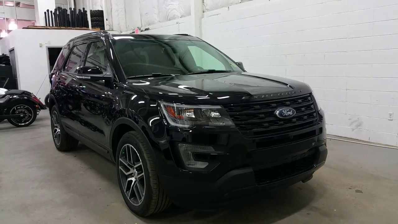2017 ford explorer sport w 20 sport wheels active grill shutters ecoboost review boundary. Black Bedroom Furniture Sets. Home Design Ideas