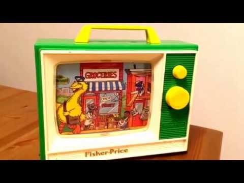 Fisher-Price Sesame Street Music TV 1984